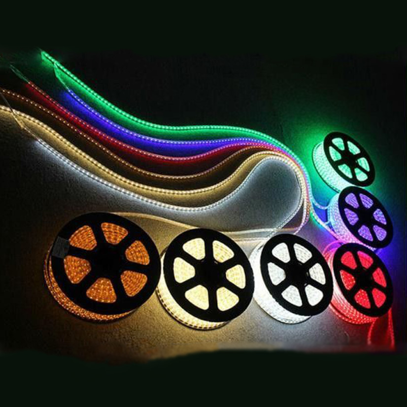 LED strip RGB footage smd 5050 220v 60led/m 12w/m KIT-STRIP-RGB-220V